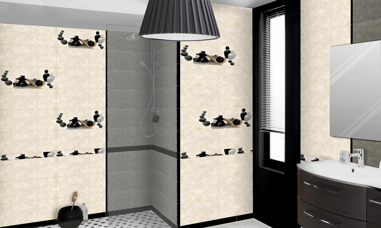 revêtement mural 1er choix format 60x25 gris